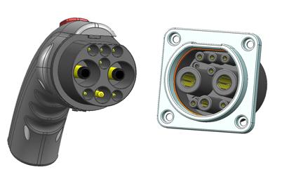电动汽车充电连接器 电动汽车充电系列 相册 dostar 电友录高清图片